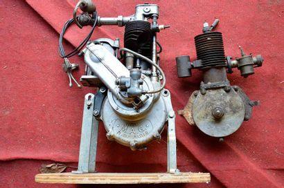 Lot de 3 Moteurs Mono-cylindre: 1 ANZANI,...