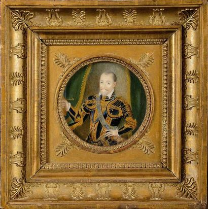 Ecole française fin XVIIIème siècle « Portrait...
