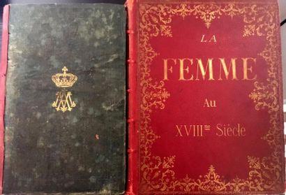 Deux ouvrages: a-De LESCURE. «Marie Antoinette...