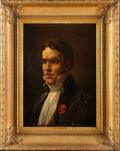 Césarine DAVIN-MIRVAULT (1773-1844). « Portrait...