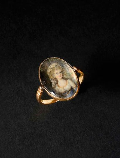«La Reine Marie-Antoinette» Bague en or....