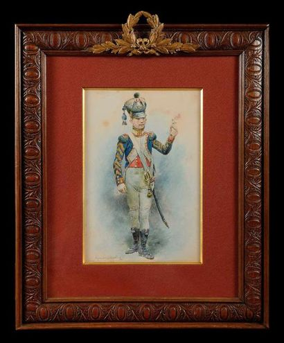 Maurice ORANGE (1867-1916) «Tambour du 3e...