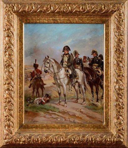 Henri DUPRAY (1841-1909). Ecole française...