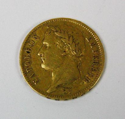 PIECE de 40FF or Napoléon 1812 Poids : 12...
