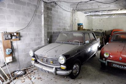 1963 Peugeot 404  Châssis n° 4314424  Carte...