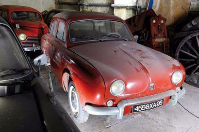 1961 Renault dauphine  Châssis n° 5873132...