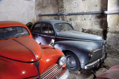 1954 peugeot 203  Chassis n° 1730100  Carte...