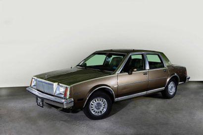 1983 Buick Châssis n° 1G4AC69XOBT180334 Carte...