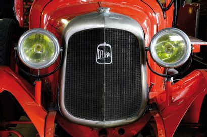 c1927 DELAHAYE Fourgon Mixte  Type : 83  Châssis n° 35423  Autopompe 60 m3  Carte...