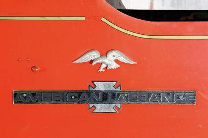 1942 AMERICAN LAFRANCE (ALF)  Châssis n° L1626  Miami  Sans carte grise  10 000...