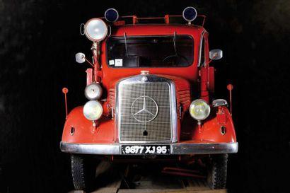 c1942 DAIMLER BENZ  Type : DBL1500S  Châssis...