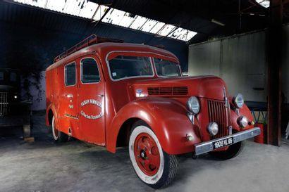1948 FORD V8 FIN  Châssis n° 4496  Carte...