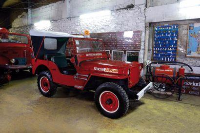 1946 Jeep Willys  Châssis n° 265114  Carte...