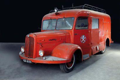 1949 LAFFLY BSS C2  Châssis n° 34023  Carte...