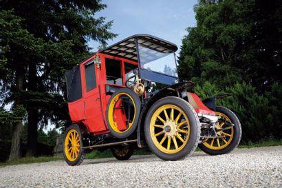 1912 Renault Type AG châssis n°11957. Carte...