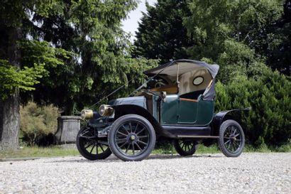 1915 Renault EK châssis n° 58748. Carte grise...