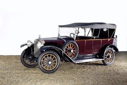 1923 Delage Di Torpédo châssis n°13897 Ex-M...