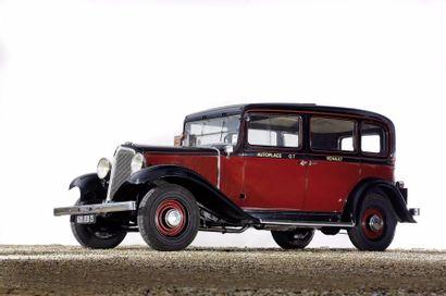 1933 Renault Type KZ11 Châssis n°617537 Carte...