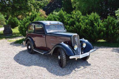 1935 Peugeot 201 D châssis n° 514526. Carte...