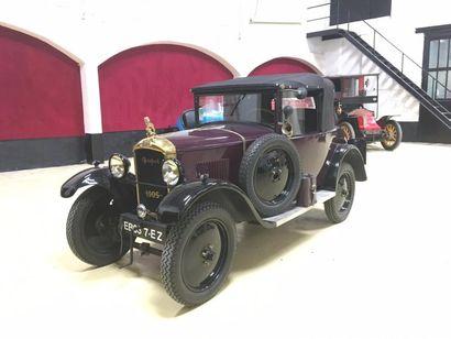 1928 PEUGEOT 190 S Châssis n° 290307 Carte...