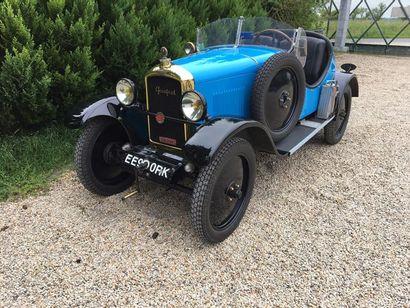 1929 Peugeot 190 S châssis n° 407360. Carte...