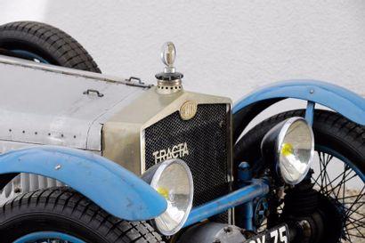 """1927 Tracta Type A-Gephy châssis n° 13 """"Le Mans"""". Carte grise française. Née de..."""