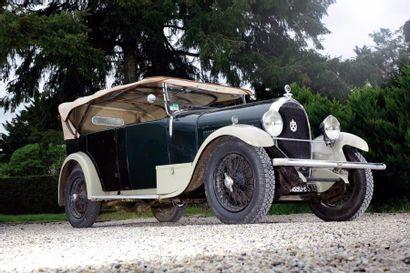 Hotchkiss AM2 châssis n° 21404. Carte grise...