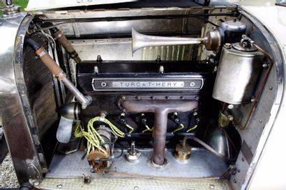 1927 Turcat-Méry VG Sport 4-cylindres 2,4 litres à arbre à cames en tête.  Carte...