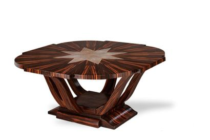 TRAVAIL DE STYLE ART DECO Table de salon...
