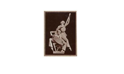 MAURICE SAULO (1901- ? ) GEORGES RUDIER fondeur à Paris «Jazz Band» Importante sculpture...