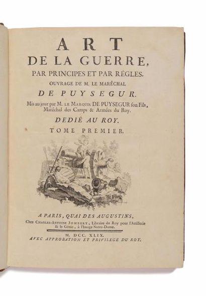 PUYSÉGUR ( Jacques-François de Chastenet,...