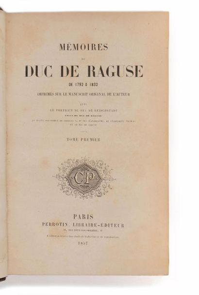 MARMONT (Auguste-Frédéric-Louis Wiesse de)....