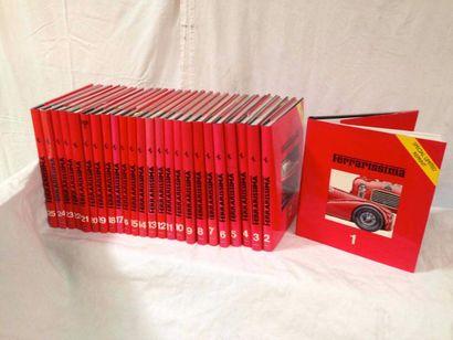 Collection de livres Ferrarissima du numéro...