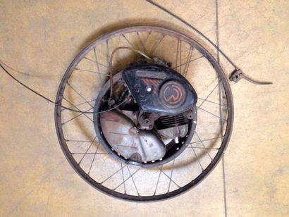 Roue avec moteur incorporé de marque cyclemaster...