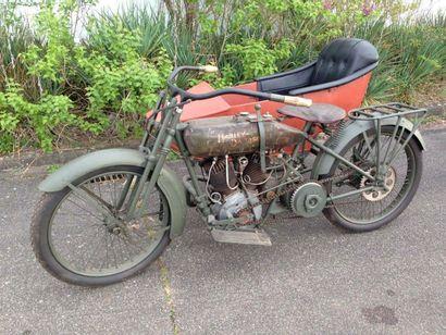 1918 HARLEY DAVIDSON 1000 side car série...