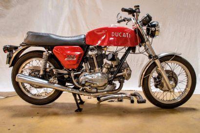 1972 DUCATI 750F Très bon état de fonctionnement...
