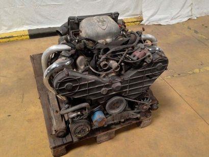 Moteur Maserati V6 bi-turbo numéro AM453...