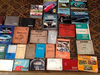Livres divers plus collection Alfa Auto et...