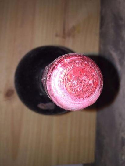1 Mag Château CHEVAL BLANC (St Emilion 1er GCC) 1947 - Très bon niveau /Belle étiquette/Millésime...