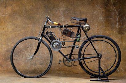 c1901-1903  Clement Autocyclette  Moteur...
