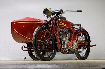 1917  Indian Side-Car  Châssis n° 85K883...