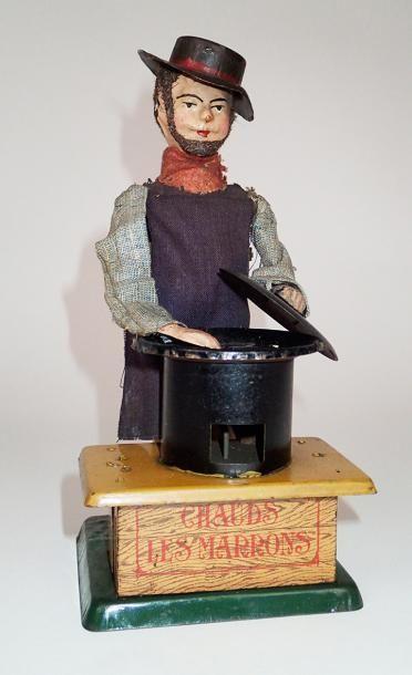 FERNAND MARTIN (1888-1912) Le marchand de...