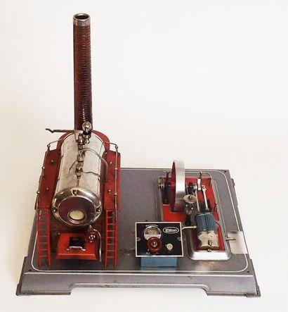 WILESCO Usine à vapeur pour atelier. (en...