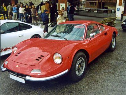 Ferrari Dino 246 GT châssis n° 02514 Carte grise française    Alfredo Ferrari dit...
