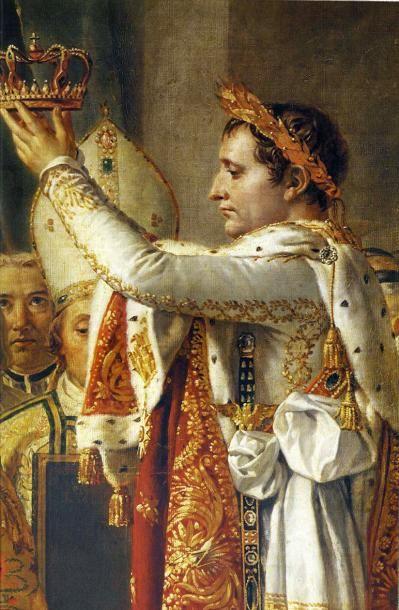 Exceptionnelle feuille de laurier provenant de la Couronne qui sera portée lors...