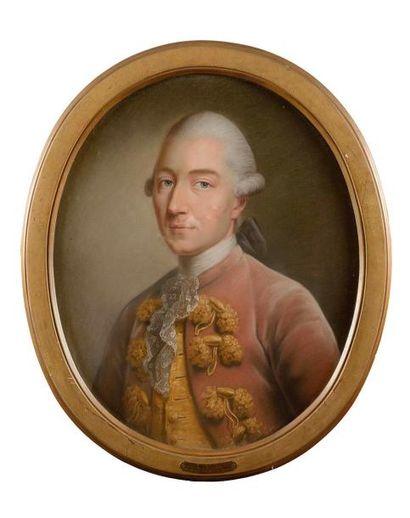 Ecole ALLEMANDE vers 1780 Baron de Berckheim...