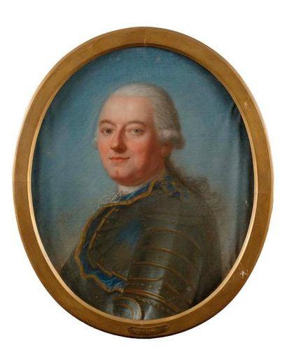 Ecole ALLEMANDE 1787, ERSTE N Portrait présumé...