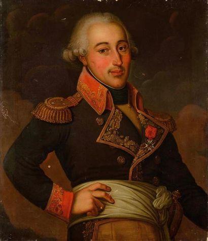 Ecole française du XIXe siècle Portrait Général...