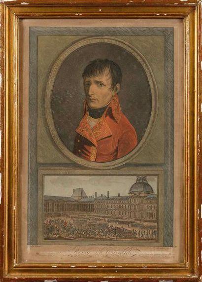 BOILL Y, d'après LE VACHEZ «Bonaparte Premier...