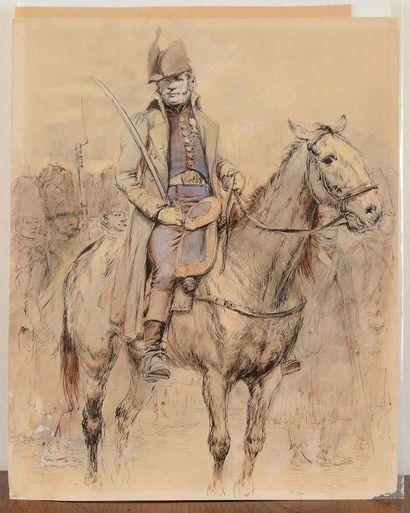 Edouard DETA ILLE (1848-1912) Officier des...